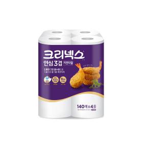 안심3겹 키친타올 140매4롤/휴지/행주