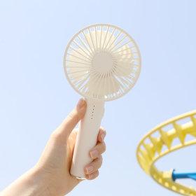휴대용 무선 선풍기 미러 핸디팬 시즌2 화이트