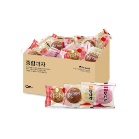 종합과자 모나카+그랑쉘+팬케이크 0.8kg/단독상품