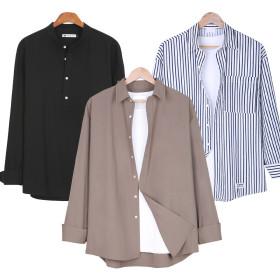 셔츠/남성셔츠/체크남방/남자남방/긴팔셔츠/헨리넥