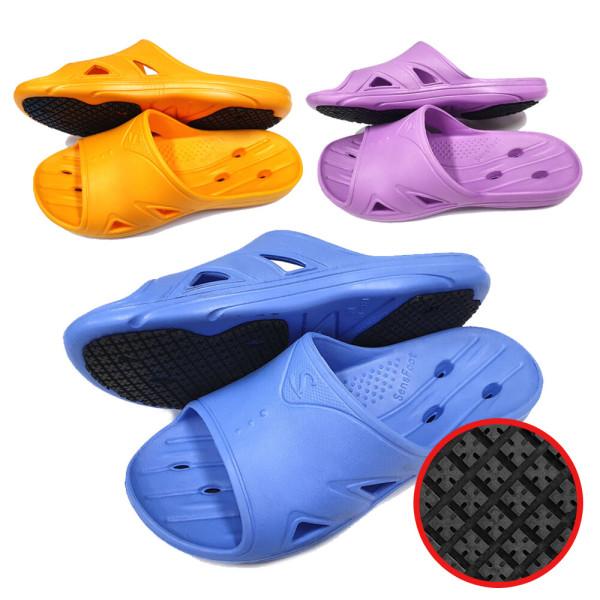SW-021 오렌지 위생 미끄럼방지 욕실화 주방화 조리화 상품이미지