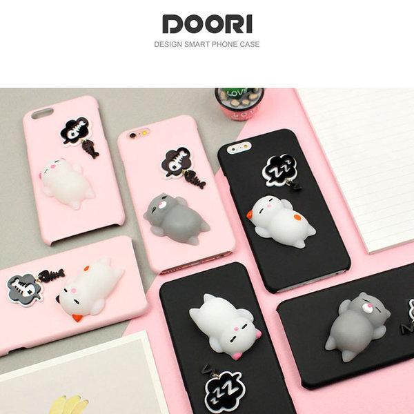 S 아이폰8/7플러스 두리 모찌모찌 고양이 하드케이스 상품이미지