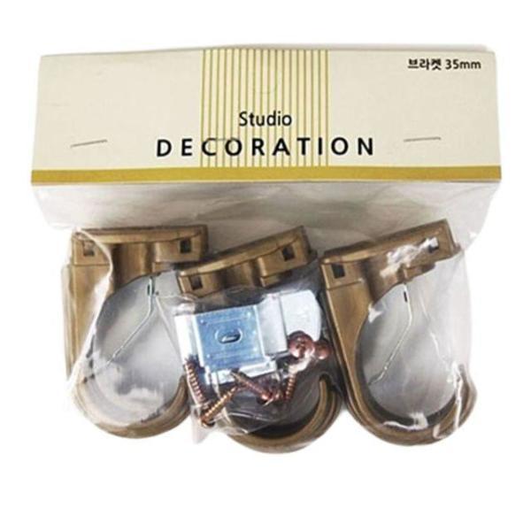 엔틱 브라켓 35mm 3P 커텐소품 커텐 브라켓 커튼 커 상품이미지