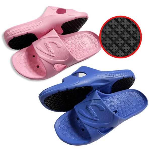 SW-02 핑크 위생화 미끄럼방지화 욕실화 주방화 조리화 상품이미지