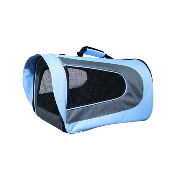 피플펫 애견가방 럭셔리 블루(소형) 강아지 이동가방 상품이미지