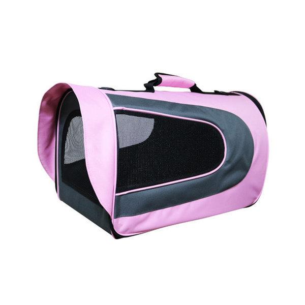 피플펫 애견가방 럭셔리 핑크(대형) 강아지 이동가방 상품이미지