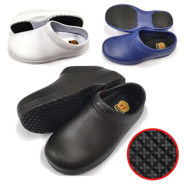SW-05 화이트 위생화 미끄럼방지 욕실화 주방화 조리화 상품이미지