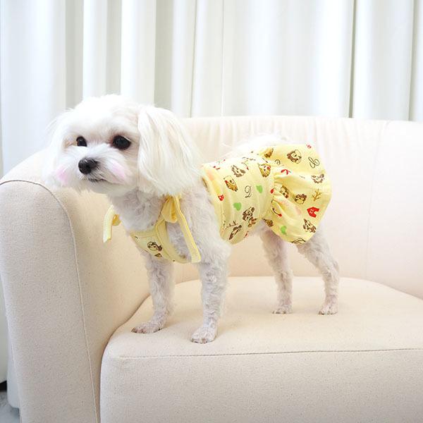 대구백화점 II관   유앤펫 강아지 여름 원피스(칩앤데일)(강아지 나시 티셔츠 여름옷 ) 상품이미지