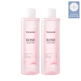 [Mamonde] Rose Water Toner 250ml x 2pcs 40%+Coupon