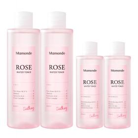 (Renewal) Rose Water Toner 250ml wipe off toner x 2pcs