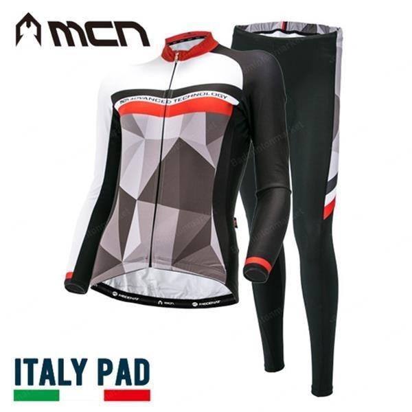 (배드민턴마켓)MCN/자전거의류/긴팔바지세트1 상품이미지