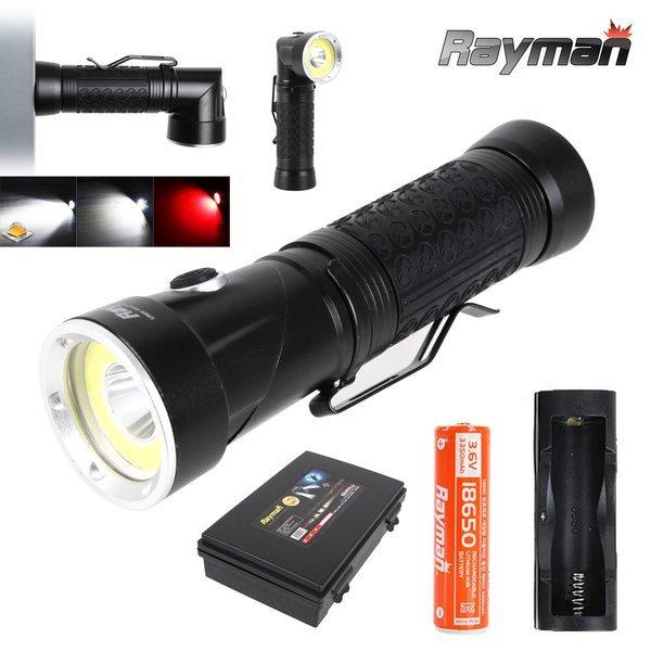 (레이맨) 레이맨 RM3003+SET3350 충전식 LED 손전등 자석부착 상품이미지