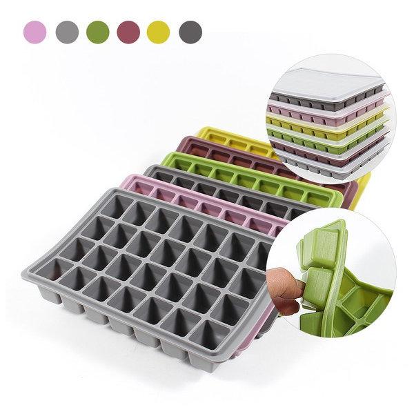 파스텔 국산 실리콘 얼음틀 얼음트레이 아이스 큐브 상품이미지