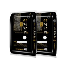 경기미 추청 아끼바레 쌀 10kg+10kg 19년산 (박스포장)