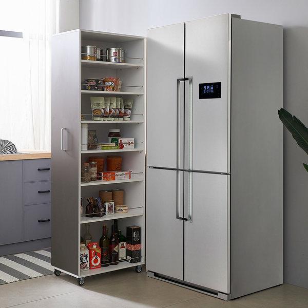 해피아이 컨실 냉장고 수납장/틈새장/틈새수납장 상품이미지