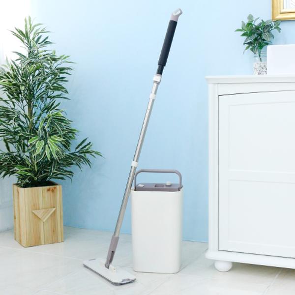 가쯔  클린 앤 드라이 일체형 밀대 청소기 + 걸레 2장 상품이미지