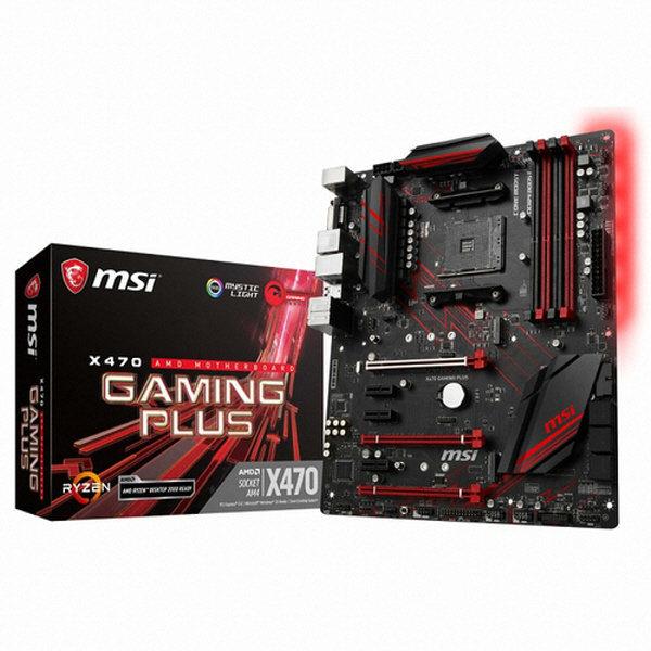ㄴMSI X470 게이밍 플러스/메인보드/AMD 상품이미지
