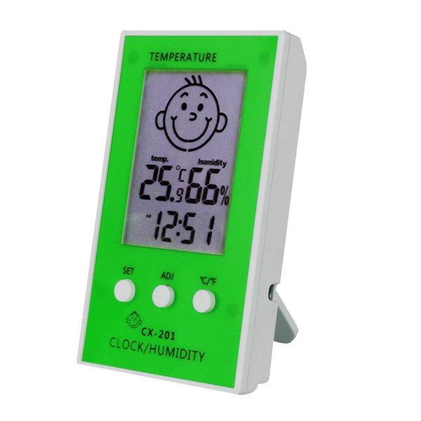 베이비 디지털 온습도계/온도계/습도계 (그린) 상품이미지