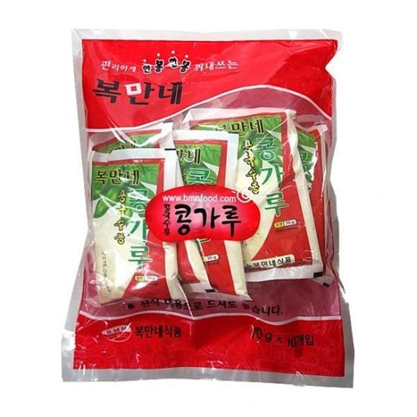 복만네 콩국수용콩가루70gX10개입 상품이미지