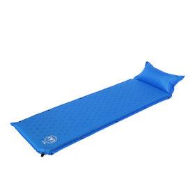 아틱폴 자충식 베개일체형 캠핑매트 A1006 - 블루