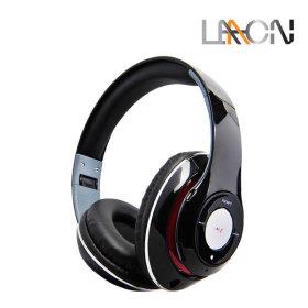 LAAON BTH-1000 블루투스 무선 접이식 헤드폰  블랙