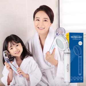 녹물/염소제거 아토젯샤워기+필터6개(무료)홈쇼핑히트