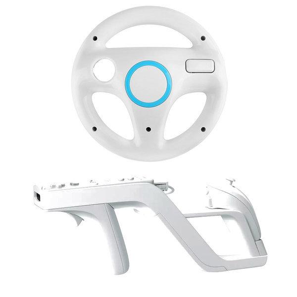 닌텐도 Wii 레이싱휠+재퍼건 /Wii 핸들+Wii 재퍼건 상품이미지