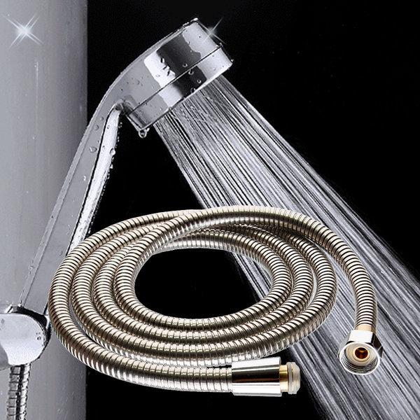 (키모스)수압상승 샤워기+샤워호스 2.0m세트 물호스 상품이미지