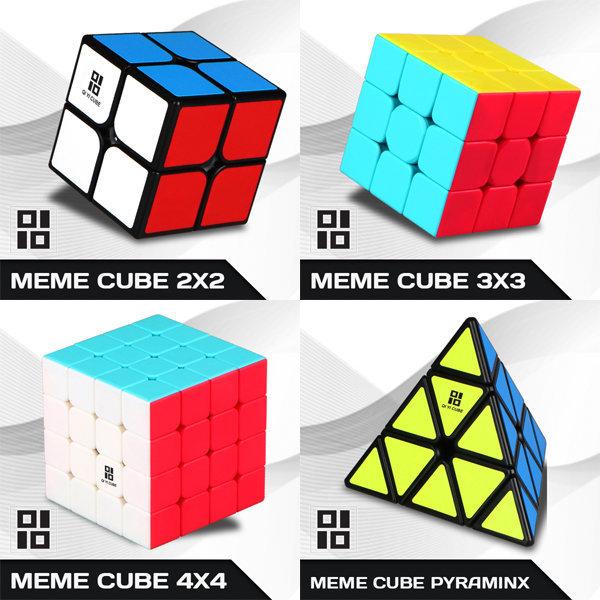 밈큐브 2x2 (Meme Cube) 블랙 / 화이트 / 치이큐브 상품이미지