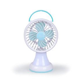 Portable/LED/Mood Lamp/Electric Fan/USB/Batteries/Mini/12.7cm/08B