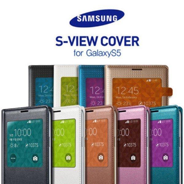 정품 갤럭시S5 케이스 S-VIEW COVER 에스뷰 커버 상품이미지