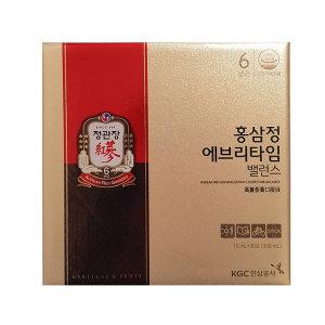 [정관장]쇼핑백증정 홍삼정 에브리타임 밸런스 10mlx30포