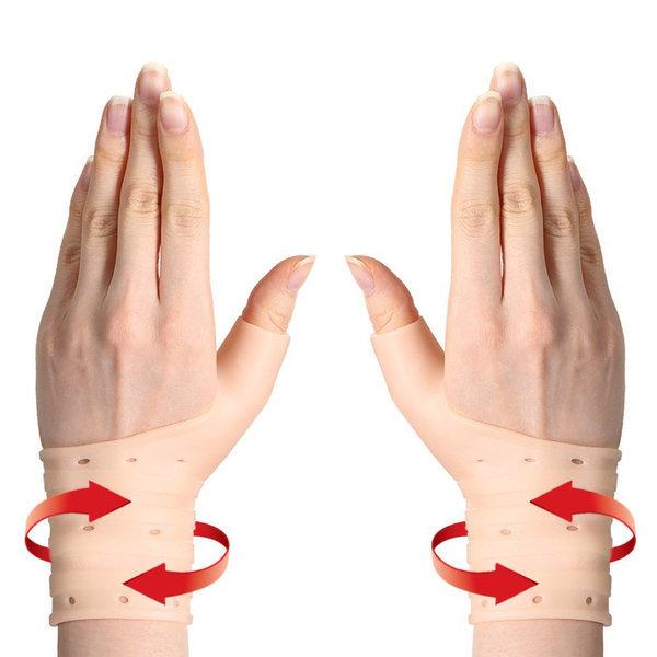 히든컴퍼니 손목보호대 실리콘 손목아대 남녀공용 상품이미지