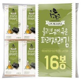 (1+1)올리브유에구운파래재래김도시락_4gx16봉