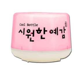 아이스홀더 캔맥주 소주 음료 보틀쿨러 보냉기 핑크