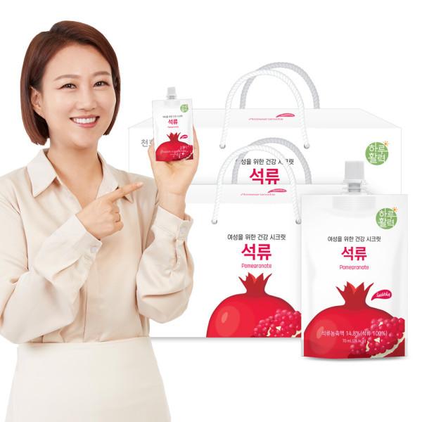 하루활력 여성건강 시크릿 석류 70ml 30팩 1+1 상품이미지