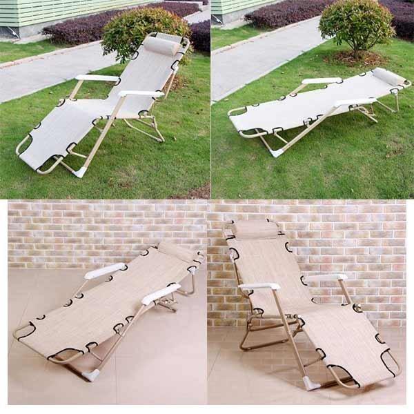 편안한 2in1 릴렉스 체어/캠핑 낚시 의자 침대 추천 상품이미지