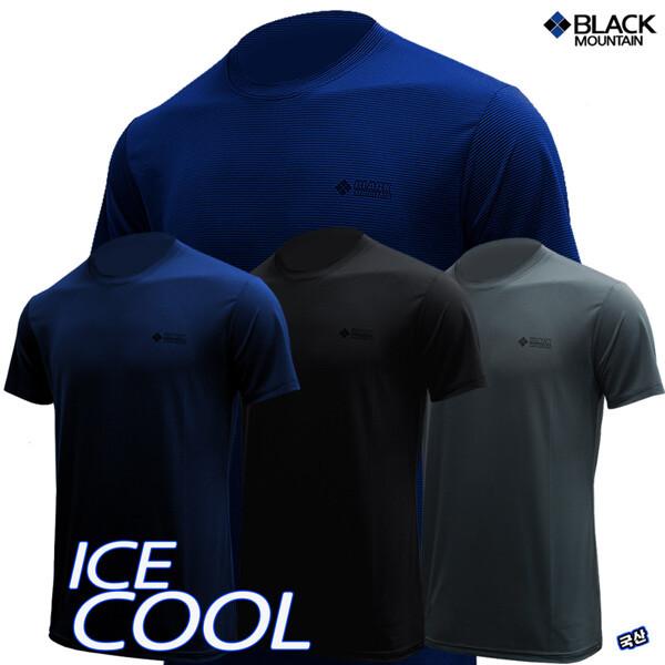 (현대Hmall)블랙마운틴 아이스 쿨 반팔 라운드 티셔츠 등산티 등산티셔츠 상품이미지