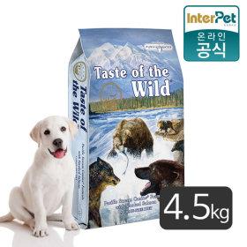 토우TOW 애견사료 훈제연어고구마 독 4.5kg 간식30g