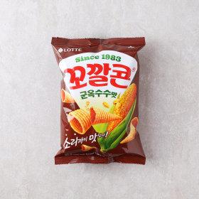 (10+1)롯데_꼬깔콘군옥수수맛_72G