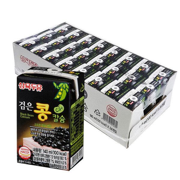 삼육 검은콩칼슘두유 140ml x 24팩 스마일배송 상품이미지