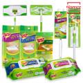 3M 청소용품 막대걸레+극세사청소포/정전기/리필/세트