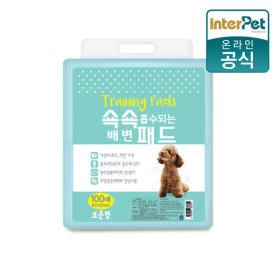 쇽쇽패드 표준형 20g 100매 애견패드 배변패드