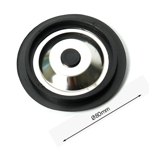 80mm 스텐 싱크대캡 / 씽크대 배수구 뚜껑 덮개 막이 상품이미지