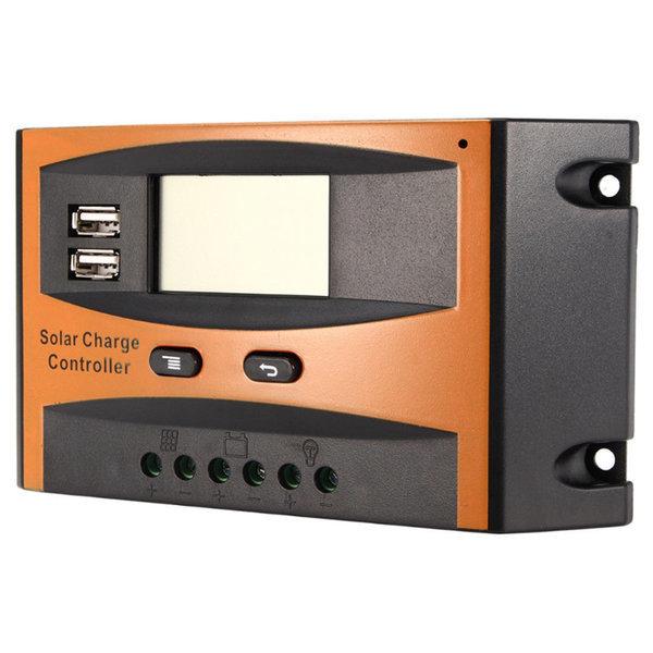 태양광 컨트롤러 LCD 솔라 모듈 패널 충전 콘트롤러 상품이미지