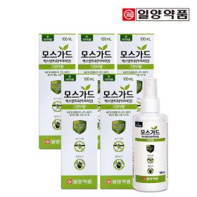 일약약품 모스가드 스프레이-5통/모기/진드기기피제