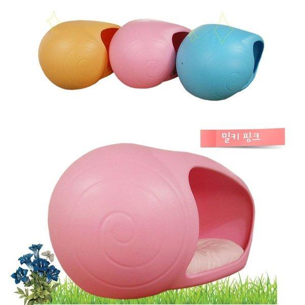 쥬펫 달팽이 펫하우스 (핑크) 상품이미지