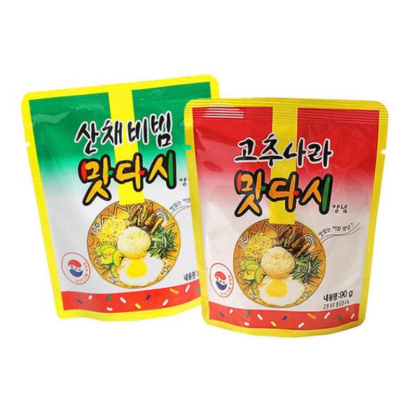 맛다시/고추나라/산채비빔/90g/만능소스/비빔장 상품이미지