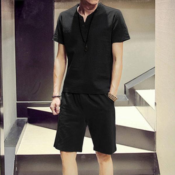 남성 티셔츠 남자 티 반팔티 반바지 트레이닝복 상품이미지