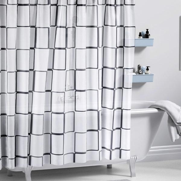 샤워커튼 큐브 / EVA 욕실 화장실 방수 가림막 상품이미지